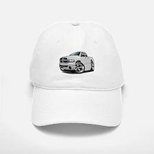 Dodge Ram White Dual Cab Baseball Baseball Cap