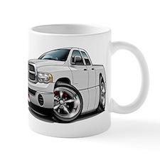 Dodge Ram White Dual Cab Mug