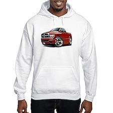 Dodge Ram Maroon Dual Cab Hoodie