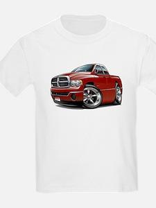 Dodge Ram Maroon Dual Cab T-Shirt