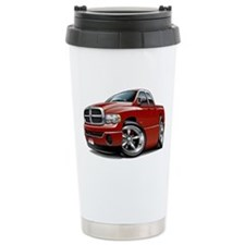 Dodge Ram Maroon Dual Cab Travel Mug