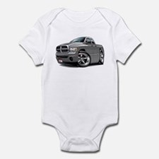 Dodge Ram Grey Dual Cab Infant Bodysuit