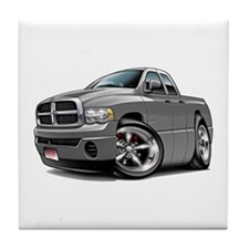 Dodge Ram Grey Dual Cab Tile Coaster