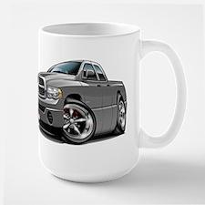 Dodge Ram Grey Dual Cab Large Mug