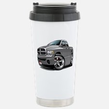 Dodge Ram Grey Dual Cab Stainless Steel Travel Mug