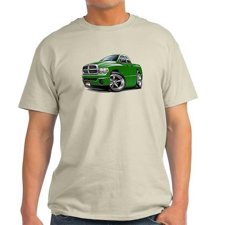 Dodge Ram Green Dual Cab Light T-Shirt