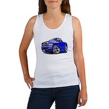 Dodge Ram Blue Dual Cab Women's Tank Top