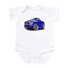 Dodge Ram Blue Dual Cab Infant Bodysuit