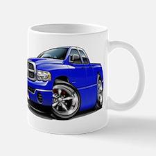 Dodge Ram Blue Dual Cab Mug