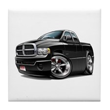 Dodge Ram Black Dual Cab Tile Coaster