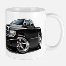 Dodge Ram Black Dual Cab Mug