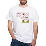 S'Awright! White T-Shirt