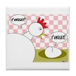 S'Awright! Tile Coaster