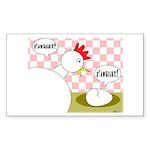 S'Awright! Rectangle Sticker 10 pk)