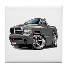Dodge Ram Grey Truck Tile Coaster