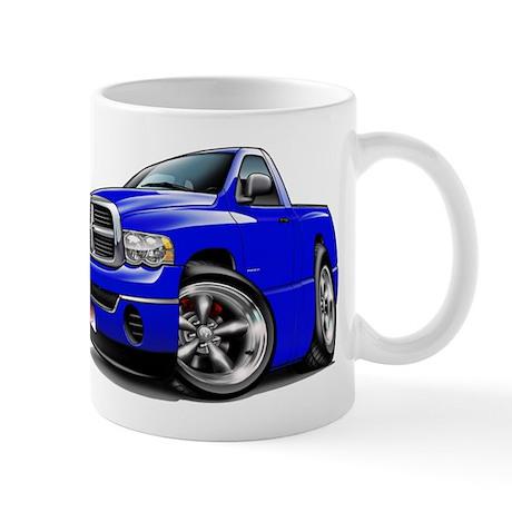 Dodge Ram Blue Truck Mug