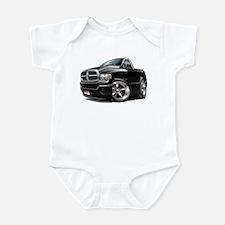 Dodge Ram Black Truck Infant Bodysuit