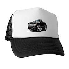 Dodge Ram Black Truck Trucker Hat