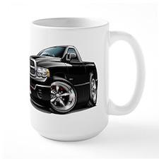 Dodge Ram Black Truck Mug