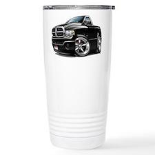 Dodge Ram Black Truck Travel Coffee Mug