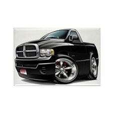 Dodge Ram Black Truck Rectangle Magnet