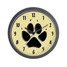 Dog Track Wall Clock