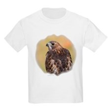 Red Tail Hawk Kids T-Shirt