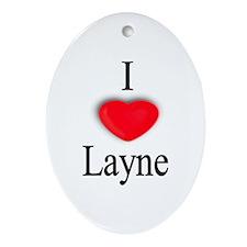 Layne Oval Ornament