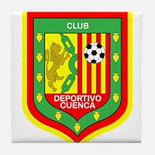 Escudo Deportivo Cuenca Tile Coaster