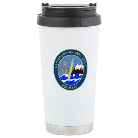 USS Mount Whitney (LCC 20) Stainless Steel Travel
