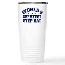 World's Greatest Step Dad Travel Mug