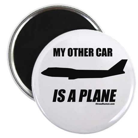My Other car is a Plane Magnet