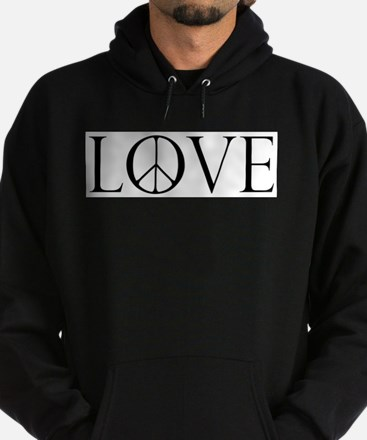 Love Peace Sign Sweatshirt