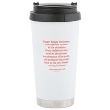 Charles Dickens 4 Travel Mug