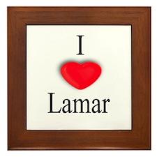 Lamar Framed Tile