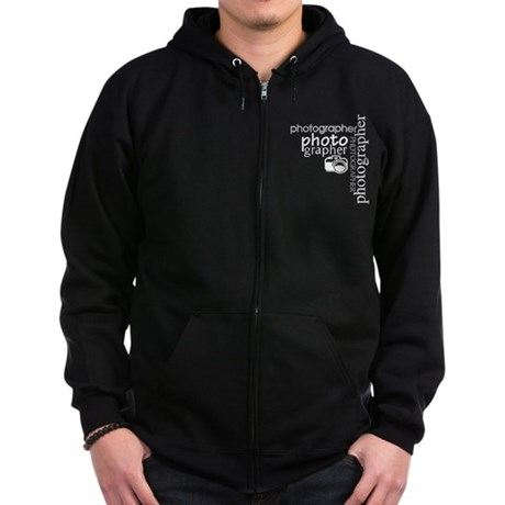 Photographer Zip Hoodie (dark)