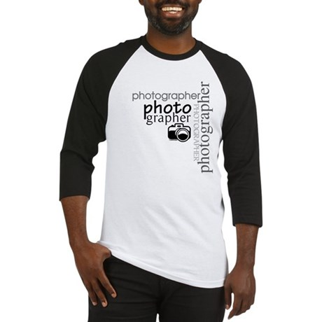Photographer Baseball Jersey