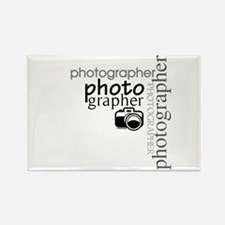 Photographer Rectangle Magnet (10 pack)
