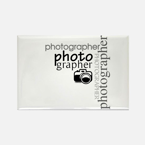Photographer Rectangle Magnet