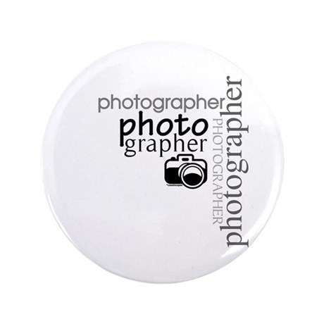 """Photographer 3.5"""" Button (100 pack)"""
