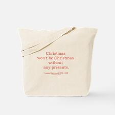 Louisa May Alcott 1 Tote Bag