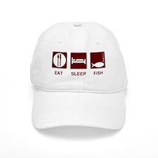 Eat Sleep Fish Baseball Cap