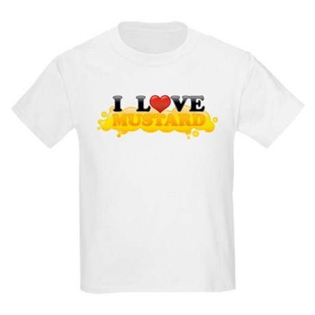 I Love Mustard Kids Light T-Shirt