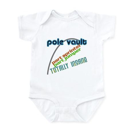 Pole Vault Insane Infant Bodysuit