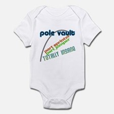 Pole Vault Insane Infant Bodysuit