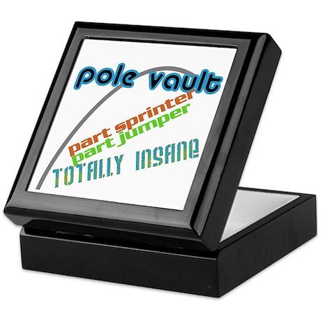 Pole Vault Insane Keepsake Box