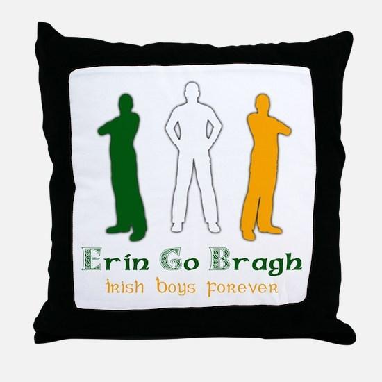 Irish Boys Forever Throw Pillow