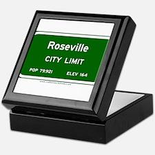 Roseville Keepsake Box
