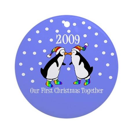 Our First Christmas Together (Gay Penguins)