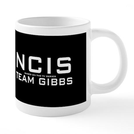 NCIS Logo 20 oz Ceramic Mega Mug
